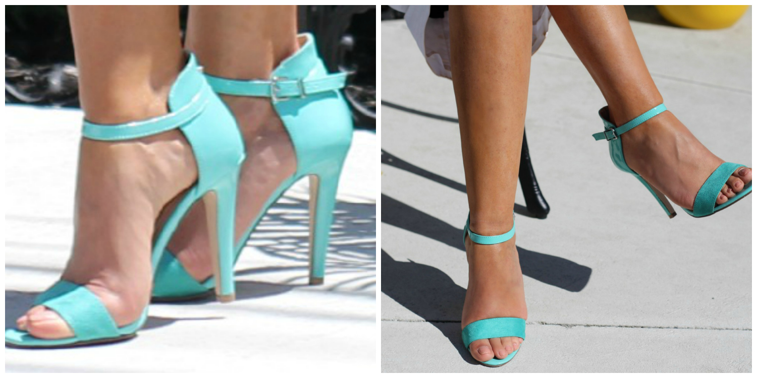 Group of: Satin Ankle-Bow Sueded Pump: Charlotte Russe | We Heart It