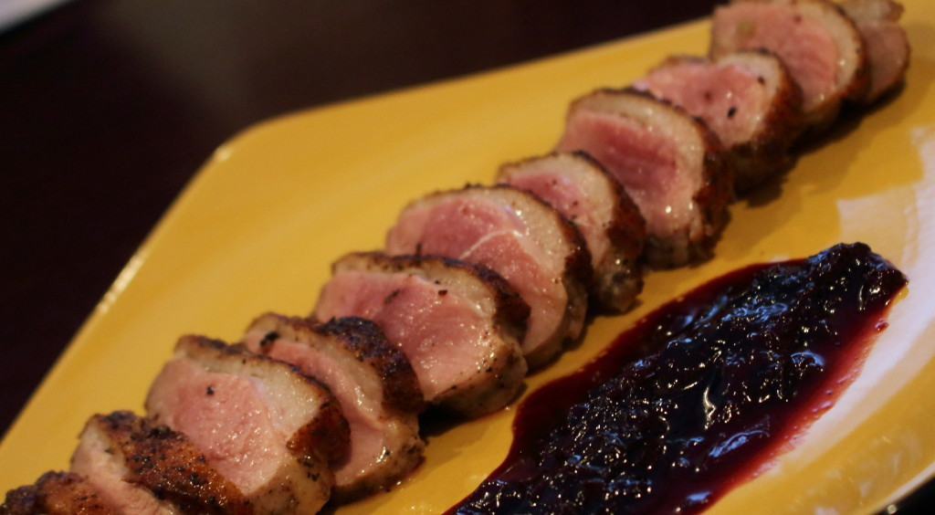 Duck with Port Cherry Glaze