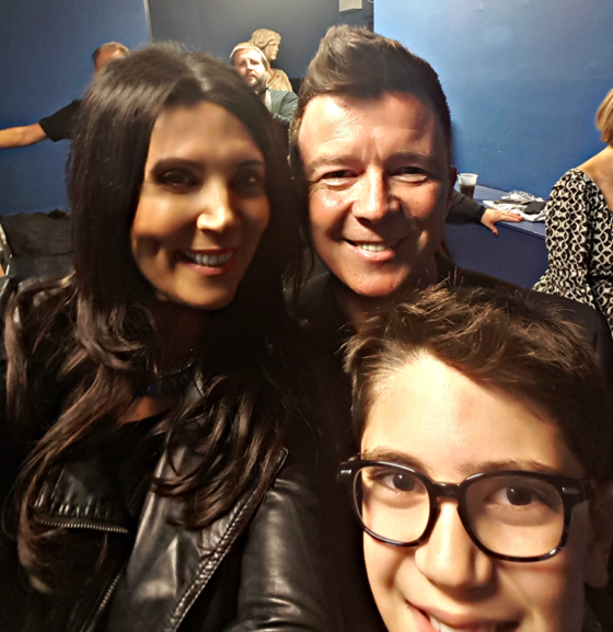 Selfie with Rick Astley